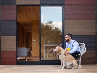 Casas de estilo  por COLECTIVO CREATIVO