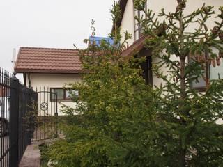 дом 240 м2 в черте города, проект реализован в 2010 году. Дома в эклектичном стиле от частный дизайнер Милена Федотова Эклектичный