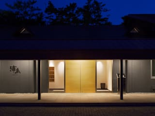 Casas modernas de 原口剛建築設計事務所 Moderno