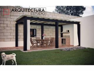 Nowoczesne domy od Arquitectura Estudio Nowoczesny