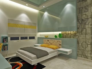 A Simple Children's Room With Simple & Attractive Designs. by Vasantha Architects and Interior Designers (VAID)
