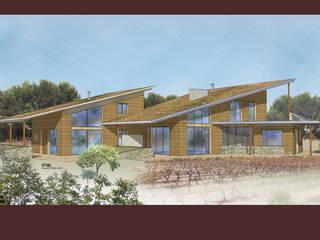 Maison bioclimatique par Agence TRIHAB