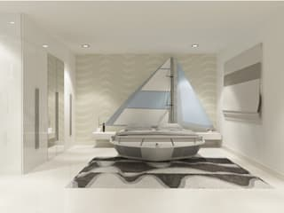 Bedroom 2 by Vasantha Architects and Interior Designers (VAID)