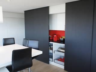 Maison passive en ossature bois par Bureau d'Architectes Desmedt Purnelle Moderne
