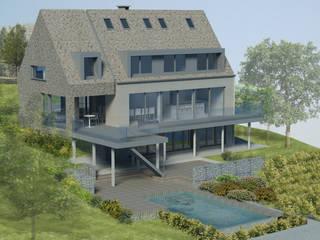 Transformation d'une habitation par BURO 5 architectes et associés Moderne