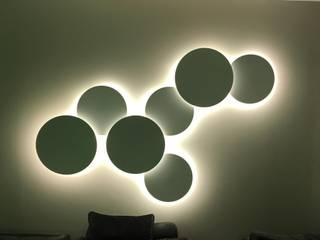 Iluminación salón: Salones de estilo  de LLIBERÓS SALVADOR Arquitectos