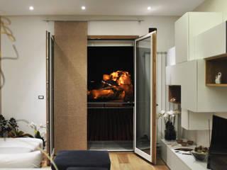 Private house: Soggiorno in stile in stile Moderno di Salvatore Nigrelli Architetto