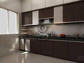 Kitchen: modern  by Vaghela interiors,Modern