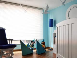 APARTAMENTO 94 Habitaciones para niños de estilo moderno de ESTUDIO DUSSAN Moderno