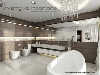 INVENTIVE INTERIORS - Dom z widokiem: styl , w kategorii Łazienka zaprojektowany przez Inventive Interiors