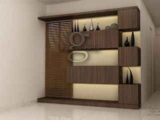 Dinning Area:   by Vaghela interiors