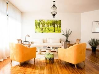 ห้องนั่งเล่น โดย MaisonList, โมเดิร์น