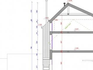 Maison familiale évolutive – Lille:  de style  par Tristan Bacro Design d'Espace,