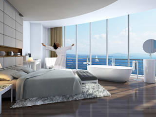 Modern Bedroom by CCT INVESTMENTS Modern