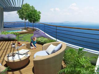 Modern Garden by CCT INVESTMENTS Modern