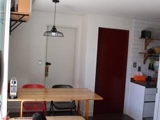 Modern dining room by atelier mandlda Modern