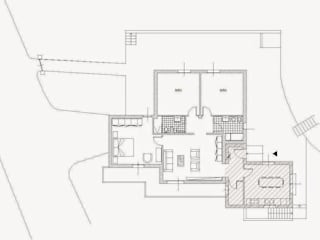 Ampliamento villetta monofamiliare Ingresso, Corridoio & Scale in stile classico di Architetto Serena Lugaresi Classico