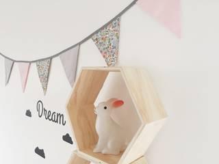 """Collection """"Douceur"""" Le Petit Bow Chambre d'enfantsAccessoires & décorations Coton Rose"""