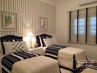 Country style bedroom by Nilza Alves e Rita Diniz Country