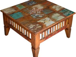 Mesas de Centro Rústica em madeira de demolição (peroba rosa) por Arte Móveis Rústicos Rústico