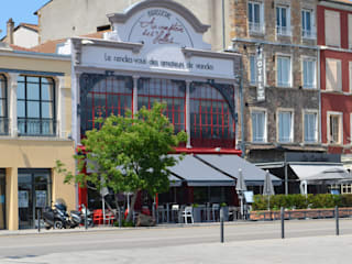 Refonte complète d'un restaurant à Mâcon (71): Restaurants de style  par ATELIER JULIEN