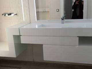 chalet adosado en imaginalia albacete torradoarquitectura Modern bathroom