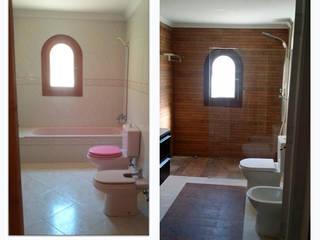 chalet en Javea torradoarquitectura Modern bathroom