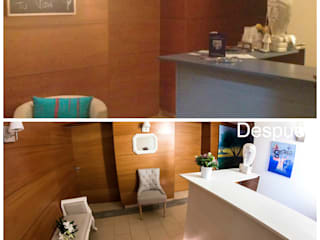 Home Staging en clínica de terapias naturales:  de estilo  de Home Staging Madrid