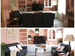 Home Staging en vivienda en Villanueva de la Cañada :  de estilo  de Home Staging Madrid