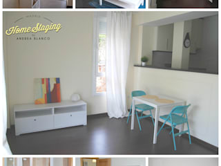 Home Staging en loft en Moraleja de Enmedio:  de estilo  de Home Staging Madrid