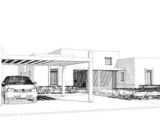 Casa La Budita de LAGOS & MIDDLETON arquitectos asociados Moderno