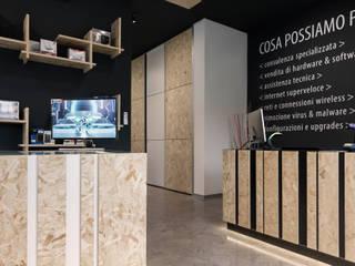 AB Computer Negozi & Locali commerciali in stile minimalista di Marg Studio Minimalista