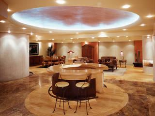 Departamento Campos Eliseo Diseño Integral En Madera S.A de C.V. Salones clásicos