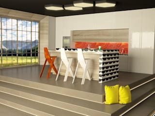 SIMPLE actitud Kitchen Tiles Orange