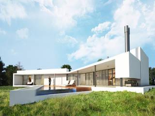 Vivienda SchV Casas modernas: Ideas, imágenes y decoración de homify Moderno