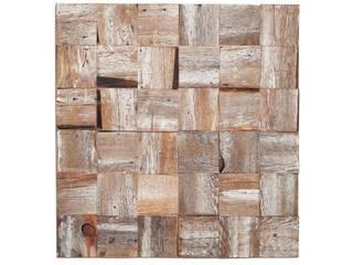 Eco slow upcycling design Altavola Design Sp. z o.o. 牆壁與地板牆壁裝飾 木頭 White