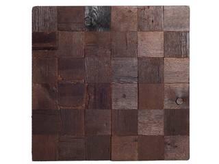 Eco slow upcycling design Altavola Design Sp. z o.o. 牆壁與地板牆壁裝飾 木頭 Brown