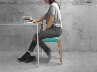 -2 por Studio Ludovico Escandinavo Madeira maciça Multicolor
