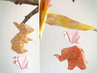 Mobile Celeste en origami:  de style  par Little Cureuil