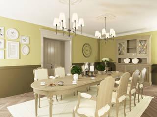 Ruang Makan Klasik Oleh OK Interior Design Klasik