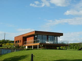 モダンな 家 の Cosinus Architecture モダン