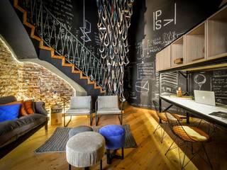 CASA PORTAL 2015 Livings modernos: Ideas, imágenes y decoración de PSV Arquitectura y Diseño Moderno