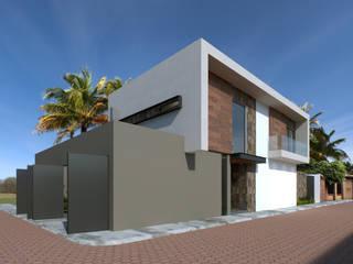 Minimalistische huizen van GYVA Studio Minimalistisch