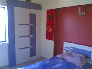 Bedrooms:  Bedroom by GB ARCHITECT,