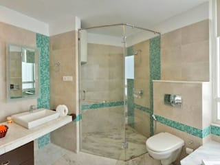 Salle de bains de style  par Spaces Architects@ka, Moderne
