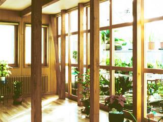 ユミラ建築設計室 Modern conservatory