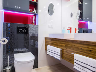 Kameleon - Kreatywne Studio Projektowania Wnętrz Modern Bathroom