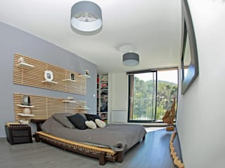 Modern style bedroom by TRIBU ARCHITECTES Modern