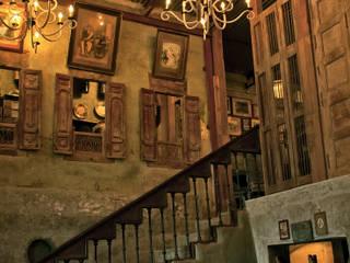 Pali Bhavan Team Design 現代風玄關、走廊與階梯