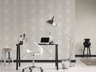 Disbar Papeles Pintados Walls & flooringWallpaper Paper Grey